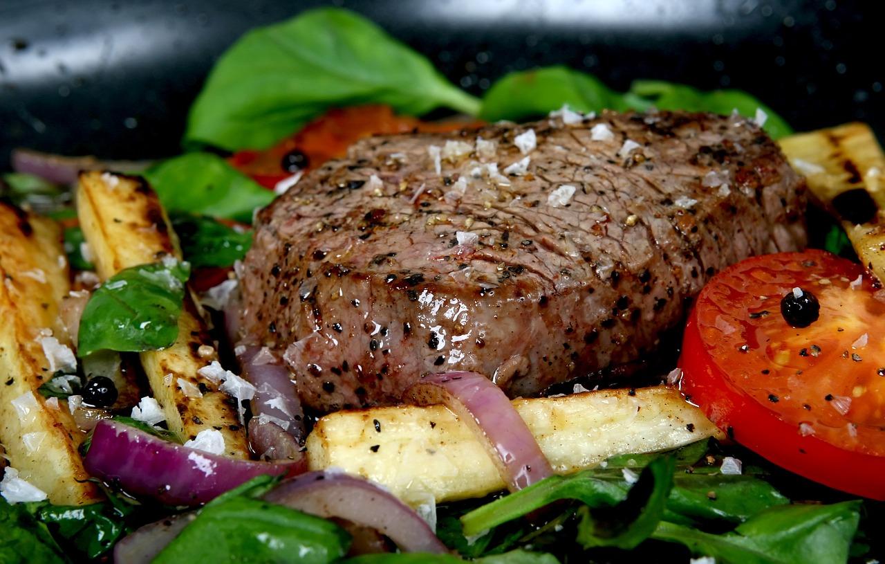 בשר עם ירקות