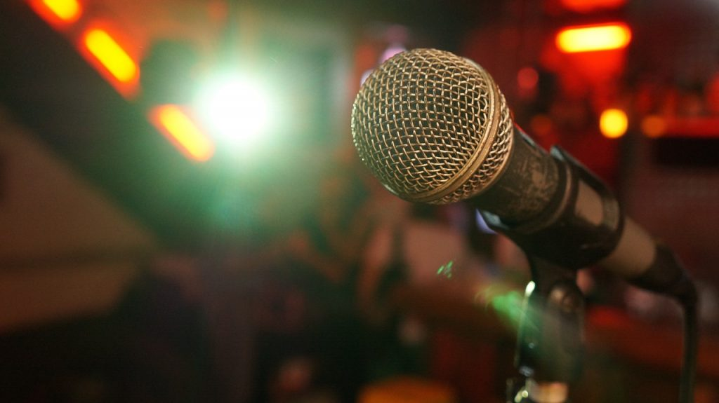 מיקרופון של הופעה