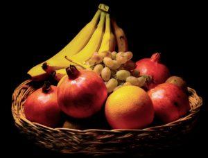 רימונים בננות ועוד