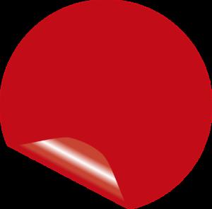 מדבקה אדומה